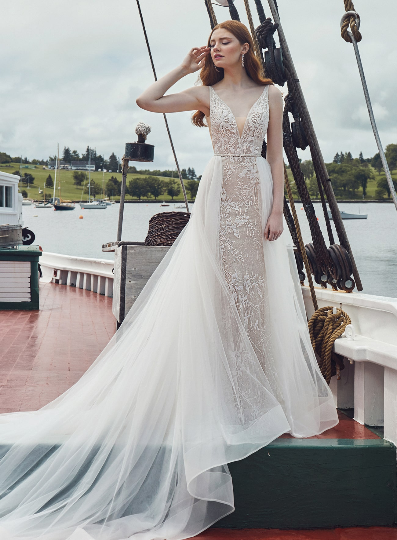 London from L'amour by Calla Blanche Bridal