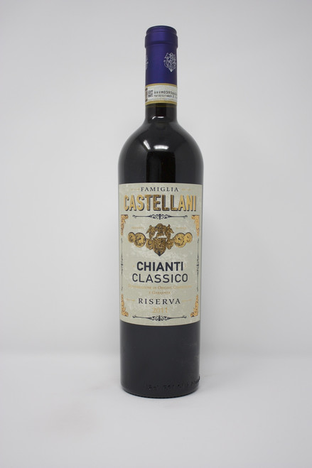 Famiglia Castellani Chianti Classico Riserva 2011 Deep ruby red color. Intense and characteristic bouquet, earthy, with wild red berries and under wood notes. Harmonious, dry, savory, strong and persistent.
