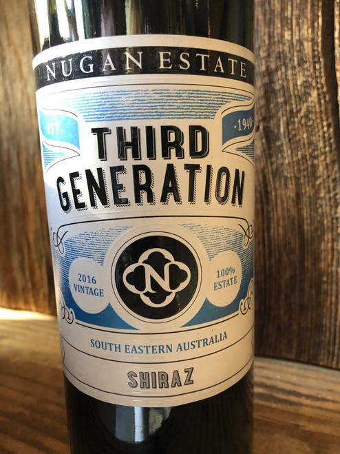 3rd generation shiraz