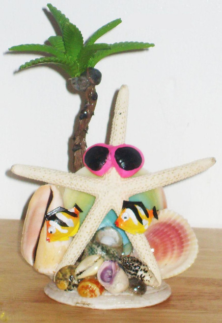 White Finger Star with Two Fish Novelty Styles