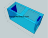 """Tsunami 300-Gallon 72""""Lx30""""Wx36""""H Rectangular Acrylic Aquarium Setup"""