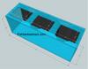 """Tsunami 400-Gallon 96""""Lx30""""Wx36""""H Rectangular Acrylic Aquarium Setup"""