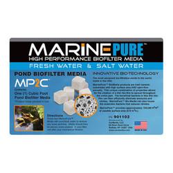 MarinePure High Performance Biofilter Media MP2C 1 CU FT
