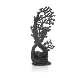 biOrb Large Fan Coral Ornament Black