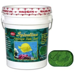 OSI Spirulina Flake Food 11 LB
