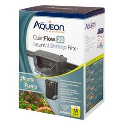 Aqueon QuietFlow Internal Shrimp Filter 20G