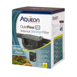 Aqueon QuietFlow Internal Shrimp Filter 10G