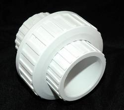 """PVC Union 1.5"""" - SxS WHITE"""