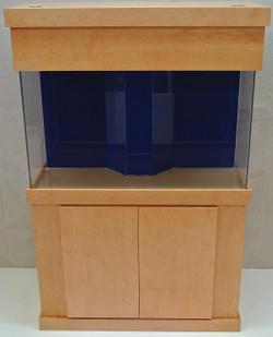 """Tsunami 75-Gallon 60""""Lx18""""Wx16""""H Rectangular Acrylic Aquarium Setup"""