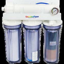 SpectraPure Line Pressure RO/DI Four-Stage MaxPure MPDI 90 GPD System