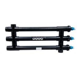 "Aqua Ultraviolet Classic 120 Watt Black 2"" UV Sterilizer"