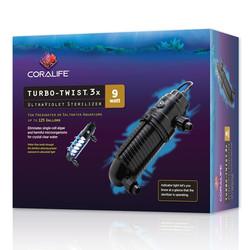 Coralife Turbo Twist UV Sterilizer 9 Watt