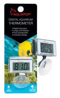 Aquatop Submersible Digital Aquarium Thermometer Suction Cup Mount
