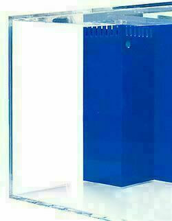 "SeaClear 180-Gallon 72""Lx24""Wx24""H Corner Overflow Rectangular Acrylic Fish Tank"