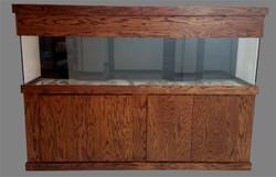 """Tsunami 240-Gallon 96""""Lx24""""Wx24""""H Rectangular Acrylic Aquarium Setup"""