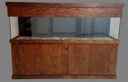 """Tsunami 300-Gallon 96""""Lx24""""Wx30""""H Rectangular Acrylic Aquarium Setup"""