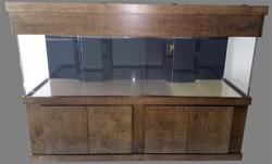 """Tsunami 500-Gallon 120""""Lx36""""Wx30""""H Rectangular Acrylic Aquarium Setup"""