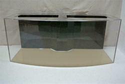 "Tsunami 150-Gallon 48""Lx30""Wx30""H Bow Front Acrylic Aquarium Setup"