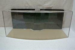"Tsunami 165-Gallon 60""Lx24""Wx30""H Bow Front Acrylic Aquarium Setup"