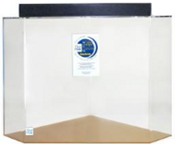 """Clear-for-Life 100-Gallon 36""""Lx36""""Wx24""""H Pentagon Acrylic Fish Tank"""
