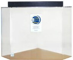 """Clear-for-Life 125-Gallon 36""""Lx36""""Wx30""""H Pentagon Acrylic Fish Tank"""