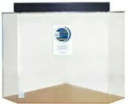 """Clear-for-Life 50-Gallon 24""""Lx24""""Wx24""""H Pentagon Acrylic Fish Tank"""