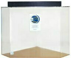 """Clear-for-Life 65-Gallon 30""""Lx30""""Wx24""""H Pentagon Acrylic Fish Tank"""