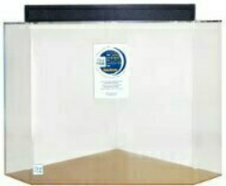 """Clear-for-Life 75-Gallon 24""""Lx24""""Wx30""""H Pentagon Acrylic Fish Tank"""