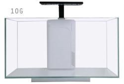 JBJ Rimless Desktop - 10G Flat Panel w. 10w LED