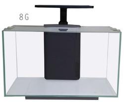 JBJ Rimless Desktop - 8G Flat Panel w/ 10w LED