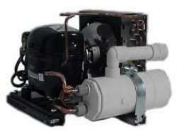 TradeWind 1-HP 220v Inline Commercial Chiller with Low Temperature Package
