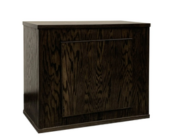 """Clear-For-Life Oak Milan 36""""Lx18""""Wx30""""H Stand"""