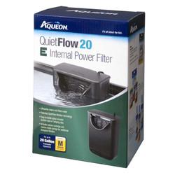 Aqueon QuietFlow 20 E Internal Power Filter 20gal MD