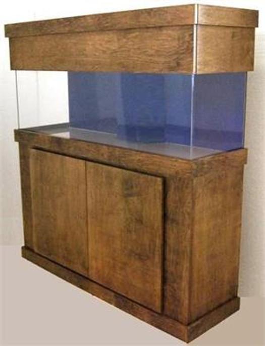 """Tsunami 400-Gallon 60""""Lx36""""Wx48""""H Rectangular Acrylic Aquarium Setup"""