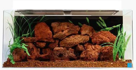 "SeaClear 50-Gallon 36""Lx15""Wx20""H Rectangular Acrylic Fish Tank"
