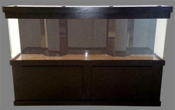 """Tsunami 325-Gallon 120""""Lx24""""Wx30""""H Rectangular Acrylic Aquarium Setup"""