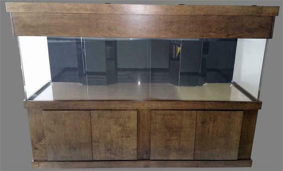 """Tsunami 600-Gallon 120""""Lx36""""Wx36""""H Rectangular Acrylic Aquarium Setup"""
