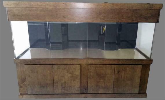 """Tsunami 670-Gallon 120""""Lx48""""Wx30""""H Rectangular Acrylic Aquarium Setup"""