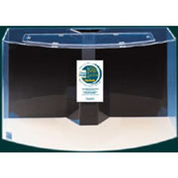 """Clear-for-Life 50-Gallon 36""""Lx18""""Wx20""""H Bow Front Acrylic Fish Tank"""