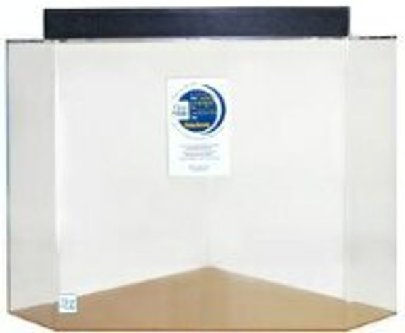 """Clear-for-Life 30-Gallon 18""""Lx18""""Wx18""""H Pentagon Acrylic Fish Tank"""