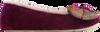 Ruby + Ed Orchid Pink Shimmer Bow Ballerina Slipper