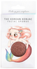 The Konjac Sponge Company Mythical Creatures Mermaid Sponge with Red French Clay
