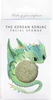 The Konjac Sponge Company Mythical Creatures Dragon Sponge with Green French Clay