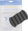 The Konjac Sponge Company 6 Wave Body Sponge with Bamboo Charcoal