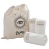MOA Bamboo Face Cloths & Hemp Bag