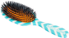 Rock & Ruddle Blue Chevron Hairbrush