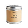 St Eval Candle Bay & Rosemary Tin Candle