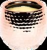 St Eval Candle Orange & Cinnamon Copper Cauldron Pot