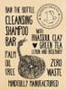 Bathing Beauty Ban The Bottle Palm Oil Free Deep Cleansing Shampoo Bar