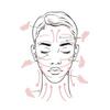 OLIXA Rose Quartz Gua Sha Facial Massage Tool